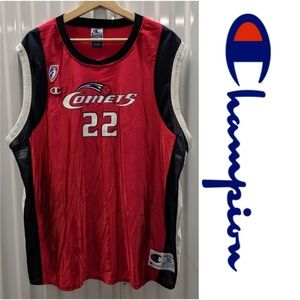 Vtg. 90's WNBA Comets Swoopes #22 Jersey